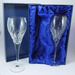 Personalised Wine Glasses Crown Priory Crystal  ref CPGPR